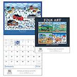 Folk Art Wall Calendars